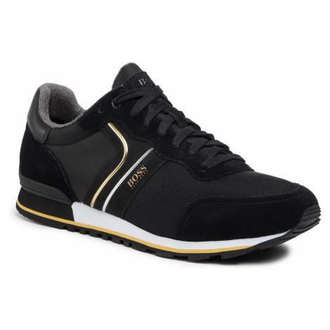 Sneakersy BOSS - Parkour 50433661 10214574 01 Black 007 Hugo Boss