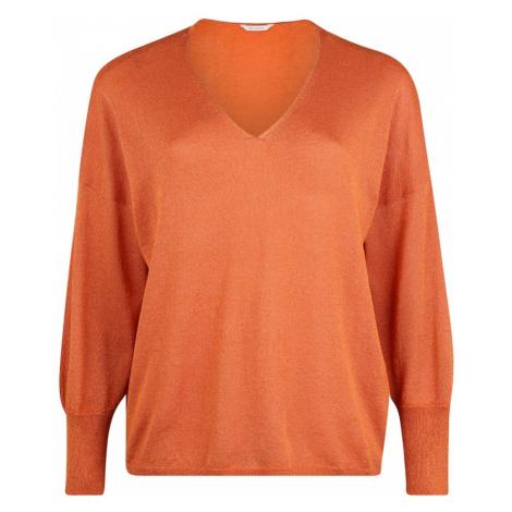 ONLY Carmakoma Sweter 'CARSKYLAR' pomarańczowy