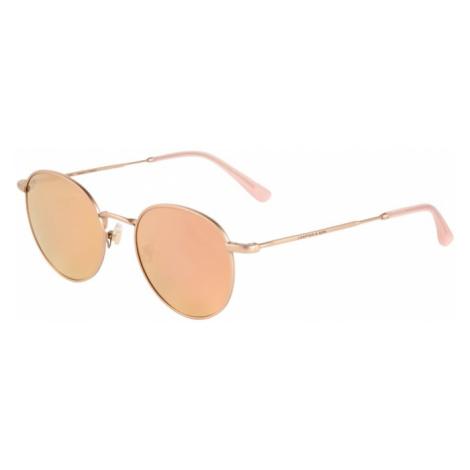 Kapten & Son Okulary przeciwsłoneczne 'London' różowy pudrowy / brąz