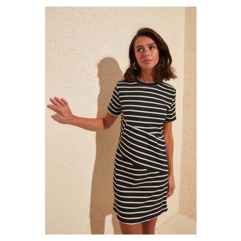 Women's dress Trendyol Striped