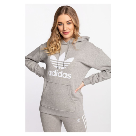 Bluza adidas Trefoil Hoodie 304 Medium Grey Heather/white