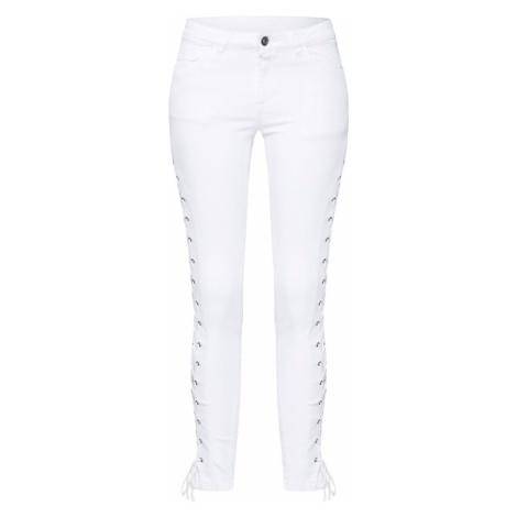 Urban Classics Jeansy biały