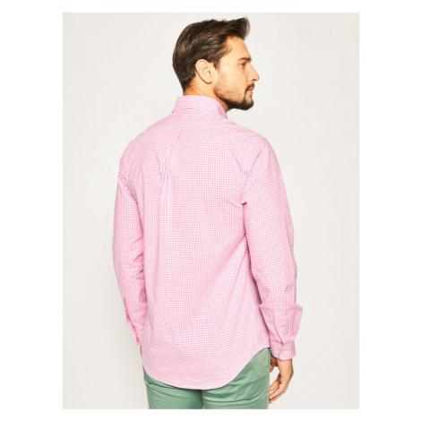 Polo Ralph Lauren Koszula Poplin 710794610 Różowy Slim Fit