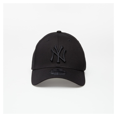 New Era Cap 39Thirty Mlb League Basic New York Yankees Black On Black
