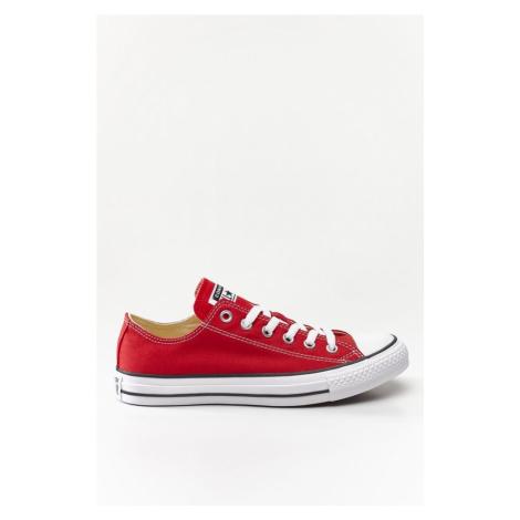 Trampki Converse M9696 Czerwone Czerwono-Białe Krótkie Niskie Trampki Tenisówki Conversy