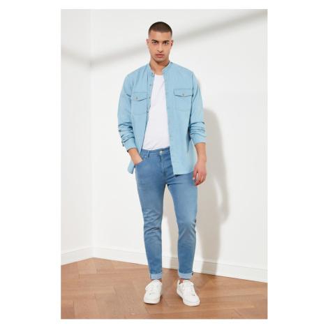 Trendyol Blue Male Tapared Skinny Jeans