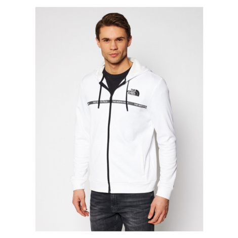 The North Face Bluza Overlay NF0A5574FN41 Biały Regular Fit