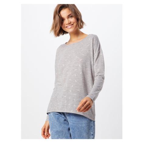 ONLY Sweter 'CAMERA' jasnoszary