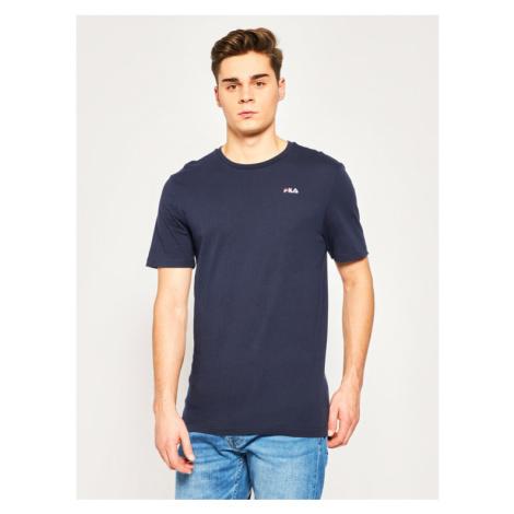 Fila T-Shirt Unwid Tee 682201 Granatowy Regular Fit