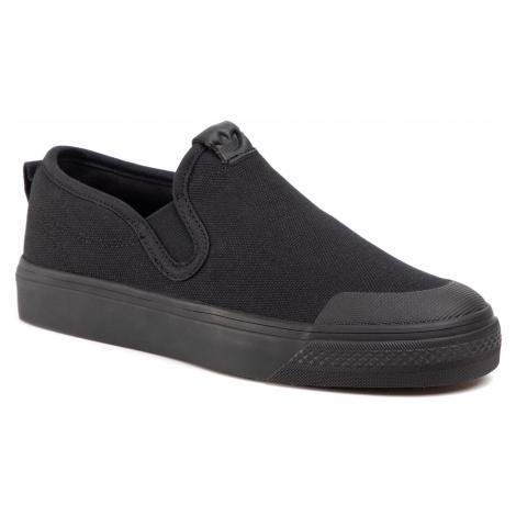 Buty adidas - Nizza Slip On EF1184 Cblack/Cblack/Cblack