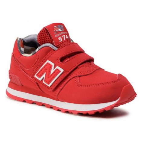 New Balance Sneakersy YV574GYI Czerwony