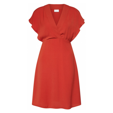VILA Letnia sukienka 'JAHULA' czerwony