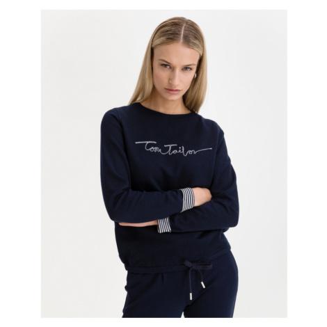 Tom Tailor Bluza Niebieski