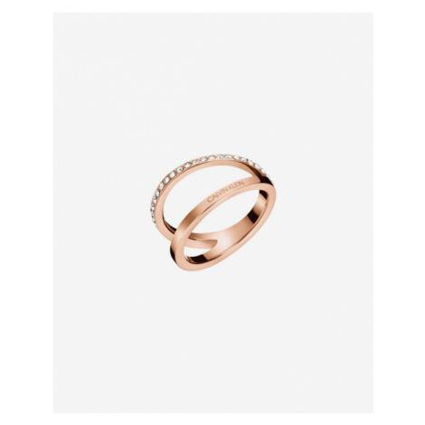 Calvin Klein Outline Pierścień Złoty