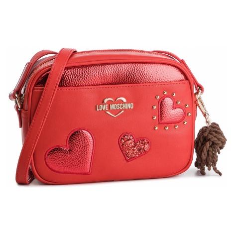 Torebka LOVE MOSCHINO - JC4060PP17LF0500 Rosso