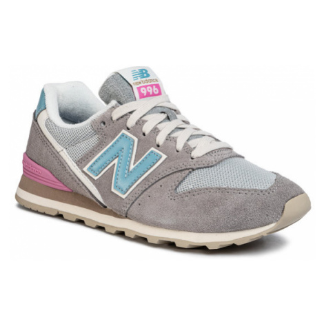 New Balance Sneakersy WL996COL Szary