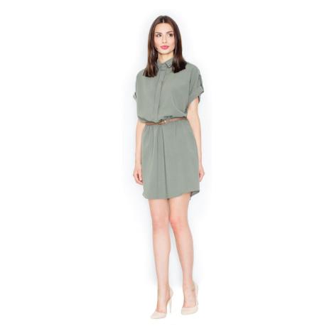 Figl Woman's Dress M442 Olive