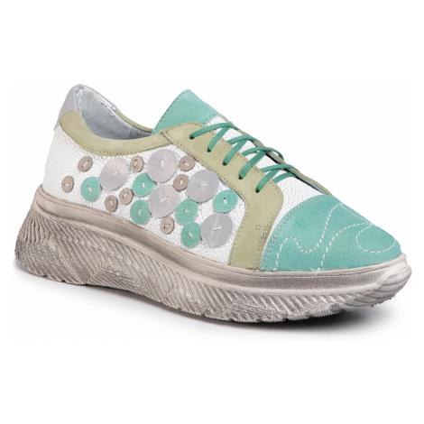 Sneakersy MACIEJKA - 04446-19/00-5 Zielony/Biały