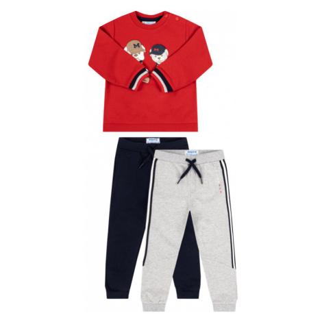 Komplet 2 par spodni dresowych i bluza Mayoral