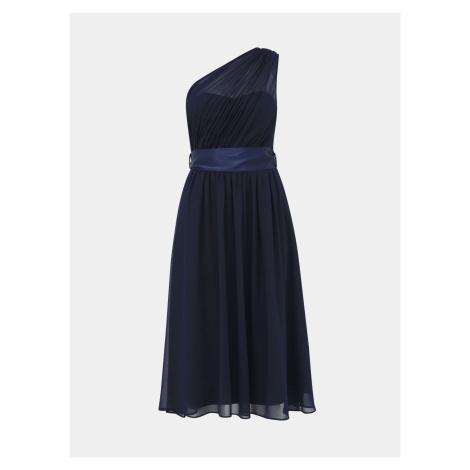 Granatowa sukienka midi Dorothy Perkins