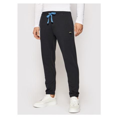 Blauer Spodnie dresowe 21SBLUF07122 005662 Czarny Regular Fit