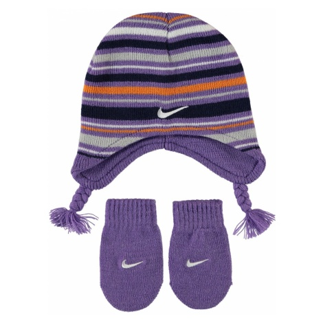 Nike Beanie and Mittens Set Infant Girls