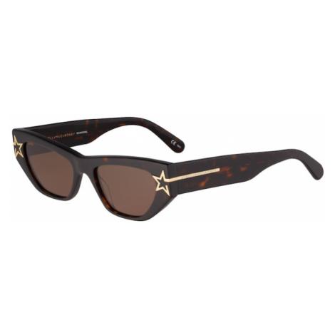 Stella McCartney Okulary przeciwsłoneczne 'SC0209S-001 51' brązowy