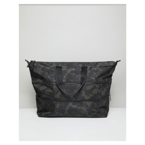 Hugo Record c holdall nylon in camo Hugo Boss