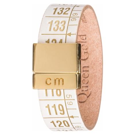 Il Centimetro Litlle Queen Gold Biały