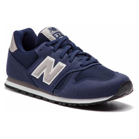 Sneakersy NEW BALANCE - YC373NV Granatowy