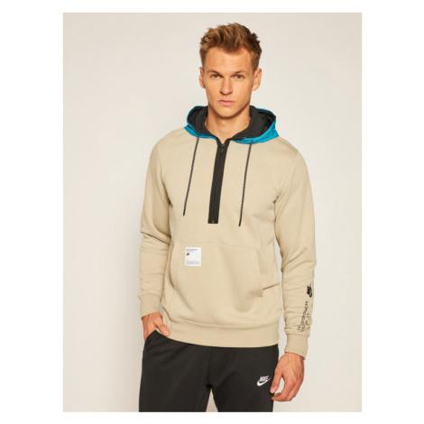 NIKE Bluza Sportswear CW6544 Beżowy Standard Fit