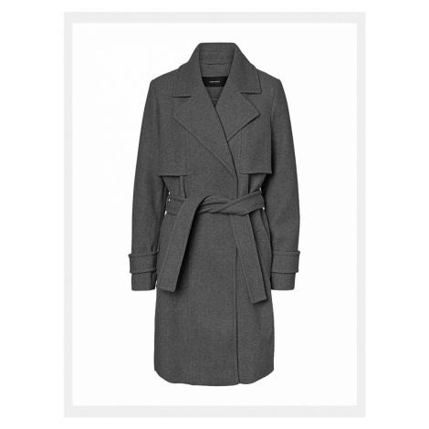 Szary płaszcz VERO MODA