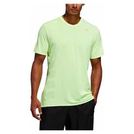 Koszulka adidas Supernova Tee M Cytrynowo-Zielona