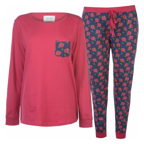 Rock and Rags Table Pyjama Set Ladies