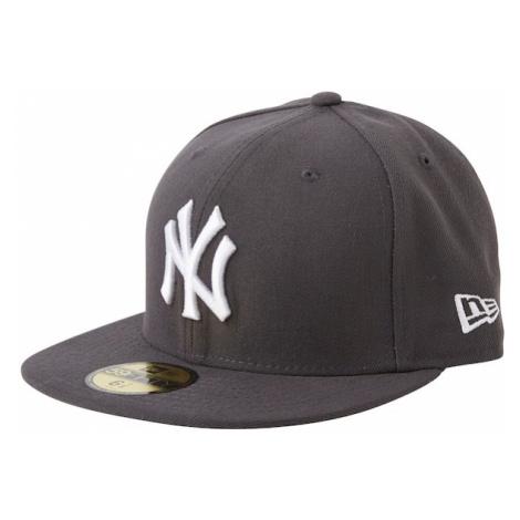 NEW ERA Czapka z daszkiem '59FIFTY MLB Basic New York Yankees' szary / ciemnoszary