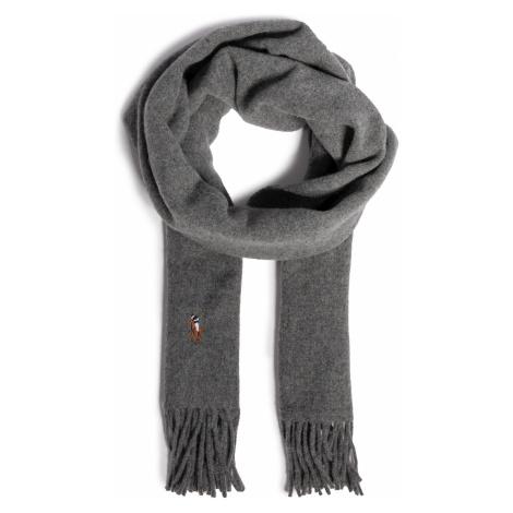 Szal POLO RALPH LAUREN - F20 Msw Hat&Scv 449727530003 Grey