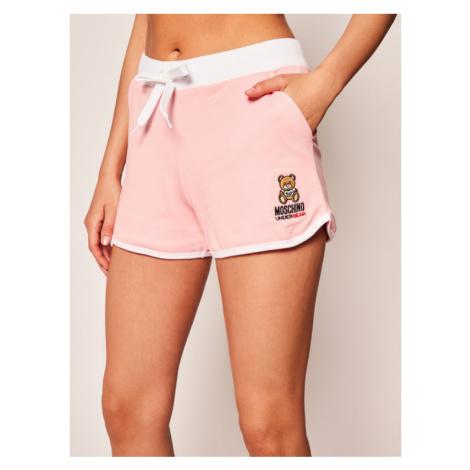 Moschino Underwear & Swim Szorty plażowe 4324 9012 Różowy Regular Fit
