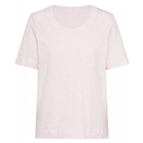 Whistles Koszulka 'ROSA DOUBLE TRIM T SHIRT' różowy pudrowy