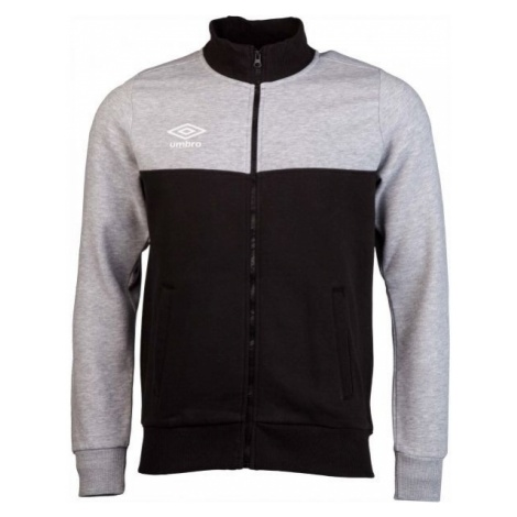 Umbro FLEECE ZIP TROUHG JACKET - Bluza męska