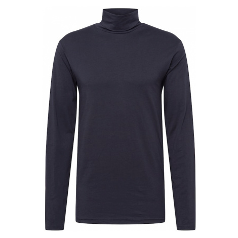 !Solid Sweter 'Ted Rollneck' czarny