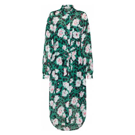 Essentiel Antwerp Sukienka koszulowa 'Voho' mieszane kolory / zielony