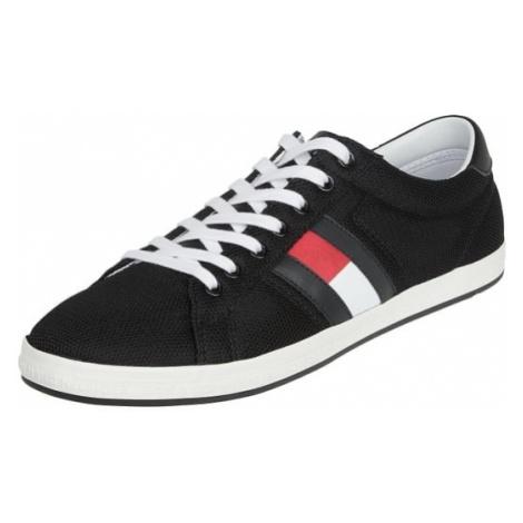 Sneakersy z tkaniny z obszyciem z siateczki Tommy Hilfiger