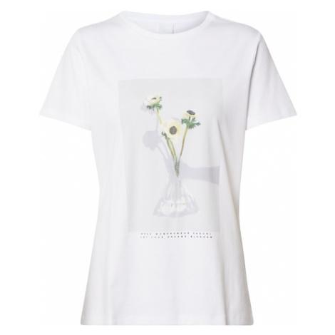 BOSS Koszulka 'Tephoto' biały Hugo Boss