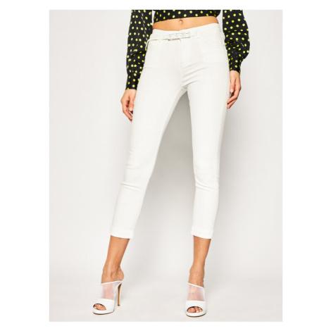 Pinko Jeansy Skinny Fit Sabrina PE 20 PDEN 1J10CB Y62G Biały Skinny Fit