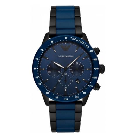Zegarek EMPORIO ARMANI - Mario AR70001 Navy/Navy