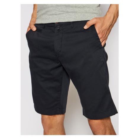 Pierre Cardin Szorty materiałowe 3465/000/2080 Granatowy Tailored Fit