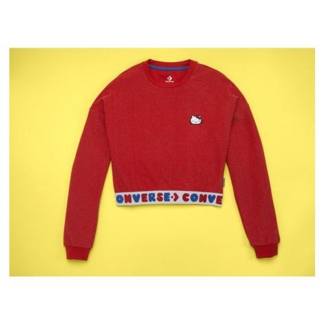 Koszulka damska Longsleeve Converse x Hello Kitty 10017305-A01
