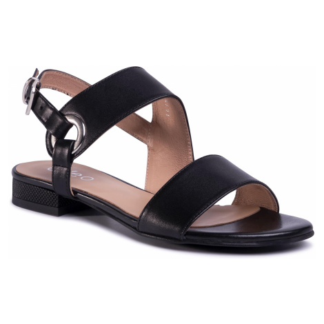 Sandały EDEO - 3553-S06/741 Czarny