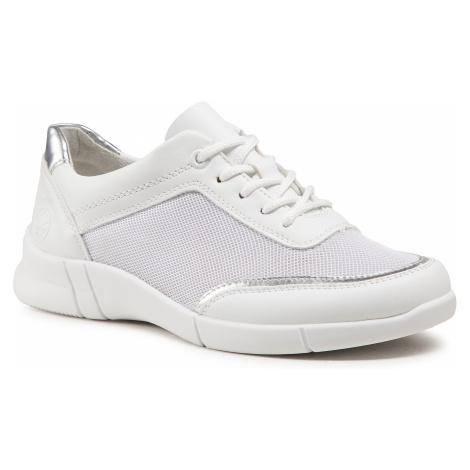 Sneakersy RIEKER - N2122-80 Weiss