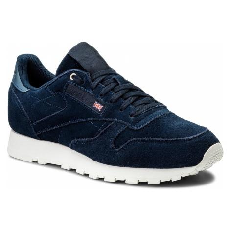 Buty Reebok - Cl Leather Mcc CM9609 Blue/Chalak